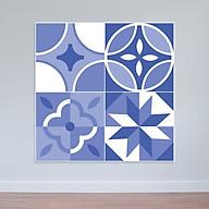 Decal dán tường mẫu mới Decal hoa văn màu sắc nhã nhặn WD159 thumbnail