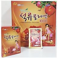 Nước Ép Lựu Đỏ KangHwa Hàn Quốc Pomegranate Collagen 1000 Nguyên Chất 80Ml 30 gói thumbnail