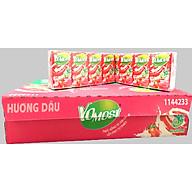 Thùng 48 hộp sữa chua uống Yomost Hương Dâu 100ml - HSD Luôn Mới thumbnail