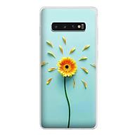 Ốp lưng cho điện thoại Samsung Galaxy S10 - Silicon dẻo - 0468 SUNFLOWER02 - Hàng Chính Hãng thumbnail