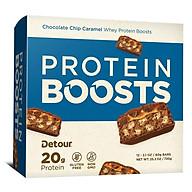 Whey Protein Bar DETOUR SIMPLE 20g protein bar (hộp 12 bar) nhập khẩu USA thumbnail