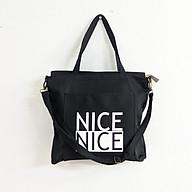 Túi Tote NICE - VN208 ( có khóa kéo, dây đeo ) thumbnail