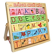 Alphabet With Frame (V) (Bảng Tiếng Việt Màu) 50106V thumbnail