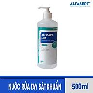 Nước rửa tay sát khuẩn nhanh diệt khuẩn ALFASEPT MED 500ml - Theo chuẩn WHO thumbnail