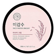 Kem Massage The Face Shop Rice Water Bright Massage Cream 200ml thumbnail