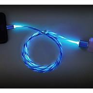 Cáp Sạc Nam Châm Chân Micro USB Có Đèn Led Hiện Dòng Điện Trên Dây thumbnail