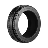 M42-M42(36-90) M42 to M42 Mount Lens Focusing Helicoid Adapter Ring 36mm-90mm Macro Extension Tube thumbnail