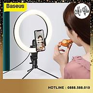 Đèn Baseus Dimmable LED Selfie Ring Light & Tripod USB Selfie Light Ring Lamp Big Photography Ringlight & Stand for Cell - Hàng Chính Hãng thumbnail