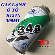 Gas lạnh tủ lạnh và ô tô R134A lon 300ml, gas lon R134A thumbnail