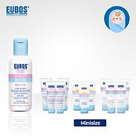 Combo dầu tắm cho bé EUBOS 125ml + 4 kem chàm sữa mini 8ml + 3 kem chống nắng cho bé và mẹ bầu 6ml thumbnail