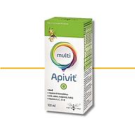 APIVIT MULTI - Thực phẩm bảo vệ sức khỏe bổ sung các vitamin, khoáng chất góp phần làm giảm tình trạng mệt mỏi, căng thẳng, nâng cao sức đề kháng. thumbnail