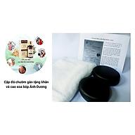 Bộ đá chườm gan cải thiện sức khỏe lưu thông khí huyết tặng khăn và cao xoa bóp thumbnail