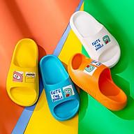 Dép Trẻ Em Cheerful Mario CM - 9328 Siêu Mềm Siêu Nhẹ Chống Trơn Trượt Cho Bé Trai Bé Gái - 5 Màu In Hình Ngộ Nghĩnh ( Kèm Tất Babylovego B101) thumbnail