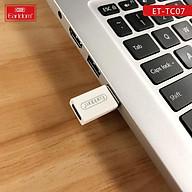 Thiết bị chuyển đổi từ đầu cắm USB sang cổng cắm USB OTG Type C- Hàng Chính Hãng thumbnail