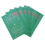 Giấy In Sớ Việt Lạc rồng chầu có ấn RH a3s (30x47cm) DL60 nền xanh thumbnail