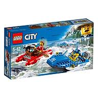 Thuyền Hơi Tẩu Thoát LEGO City 60176 (126 Chi Tiết) thumbnail