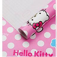 Cuộn 5m Decal Giấy Dán Tường Kitty châm bi (5m dài x 0.45m rộng) thumbnail