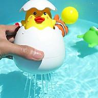 Đồ Chơi Trứng Vịt Tự Nở Phun Nước ngộ nghĩnh cho bé khi tắm thumbnail