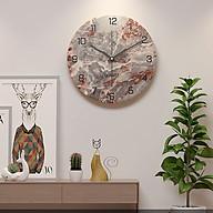 Đồng hồ treo tường đẹp hình tròn thumbnail