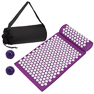 Acupressure Mat with Pillow Ball Set for Relieving Stress Back Neck Pain Health Care Yoga Mat Acupuncture Massage Mat thumbnail