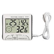 Thiết bị đo nhiệt độ, độ ẩm DC103 (độ chính xác cao, thiết kế nhỏ gọn) - Tặng kèm 3 móc dán tường màu ngẫu nhiên thumbnail