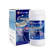 Viên uống sáng mắt Omega 3 6 9 New - chai 100 viên - giúp tăng cường thị lực,hỗ trợ giảm mỡ máu- Medi&Beauty thumbnail