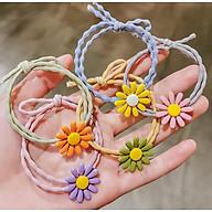Dây cột tóc hoa mặt trời ngũ sắc - Combo 5 sp (ngẫu nhiên) thumbnail