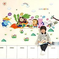 Decal dán tường loài vật thu hoạch củ cải cho bé SK9037 thumbnail