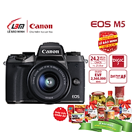 Máy ảnh Canon EOS M5 Kit EF-M15-45mm - Hàng Chính Hãng Lê Bảo Minh thumbnail