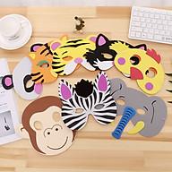 Mặt nạ đồ chơi trẻ em hình động vật ngộ nghĩnh - Mặt nạ đồ chơi Trung Thu Noel 1 6 - mẫu ngẫu nhiên thumbnail