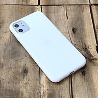 Ốp lưng dẻo trắng dành cho iPhone 11 thumbnail