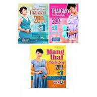 Combo sách Hành trình thai giáo 280 ngày, Thai Giáo Theo Chuyên Gia - 280 Ngày - Mỗi Ngày Đọc Một Trang và Mang Thai Thành Công - 280 Ngày Mỗi Ngày Đọc 1 Trang - Tặng truyện song ngữ bìa mềm hai nàng công chúa thumbnail