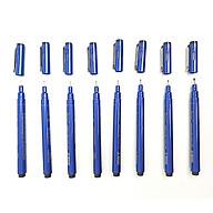 Bộ 8 Bút Line Đi Nét Chuyên Nghiệp Kháng Nước Needle Drawing Pen (0.05 - 1.0) - (Bút vẽ kỹ thuật) thumbnail