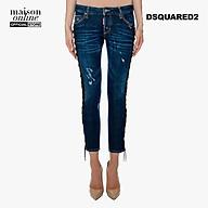 DSQUARED2 - Quần jeans nữ phối dây buộc bên hông Deana Jean S72LA0869-470 thumbnail