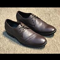 Giày Tây Nam buộc dây công sở da bò màu nâu đậm 1885Brown - Leather Upper Sr7 thumbnail