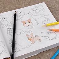 Vở tập tô màu - Sách tô màu cho bé tặng kèm bút vẽ thumbnail