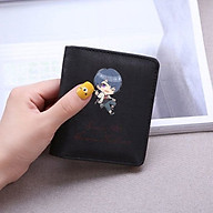 Ví ngắn đen cầm tay in hình TEAR OF THEMIS Vị Định Sự Kiện Bộ game chibi anime đựng vật dụng nhỏ xinh xắn tiện lợi thumbnail