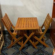 Bộ bàn cafe mini 2 ghế thumbnail