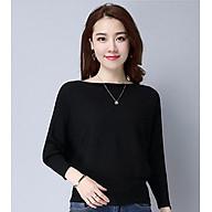 Áo len nữ cánh dơi thời trang Hàn Quốc thumbnail