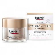 Kem chống lão hóa đêm Eucerin Hyaluron Filler + Elasticity Night (50ml) thumbnail