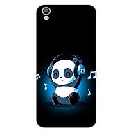 Ốp lưng dẻo cho điện thoại Oppo F1 Plus _Panda 05 thumbnail