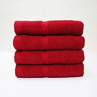 Combo 5 khăn quấn tóc, khăn mặt SPA Nam Phong - 34x80 cm - màu đỏ thumbnail