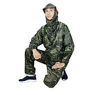 bộ áo quần mưa lính vải dù 2 lớp 3 chức năng chống thấm nước cao cấp thumbnail