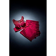 Áo ngực nữ Triumph 8269 mút rời, có gọng, cổ yếm xẻ lưng sexy quyến rũ màu đỏ thumbnail