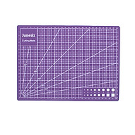 30 22cm Self Healing Cutting Mat Double-sided A4 Non-slip PVC Cutting Mat Board with Grid Lines Angles Design Art thumbnail