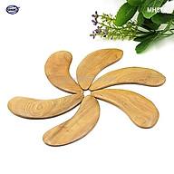 COMBO 2 Dụng cụ cạo gió mát xa (MH878) LÀM MỊN DA MẶT bằng gỗ Bách Xanh thumbnail