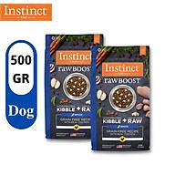 COMBO 2 GÓI 500g Thức ăn cho chó cao tuổi từ gà thật Instinct Real Chicken Real Chicken for Senior dogs (Túi 500g) thumbnail