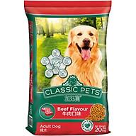Đồ Ăn Cho Chó Trưởng Thành Classic Pets Hương Vị Thịt Bò Nướng thumbnail