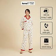 FEMEI - Bộ pyjama dài tay PND016 thumbnail
