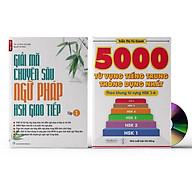 Sách- Combo 2 sách 5000 từ vựng tiếng Trung thông dụng nhất theo khung HSK từ HSK1 đến HSK6+Giải Mã Chuyên Sâu Ngữ Pháp HSK Giao Tiếp Tập 1( Audio Nghe Toàn Bộ Ví Dụ Phân Tích Ngữ Pháp) +DVD tài liệu thumbnail